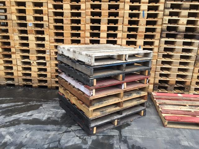 Repaired Wooden Pallets 1165 x 1165 Heavy Duty